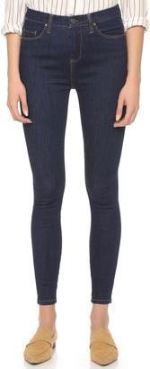Blank Denim High Rise Skinny Jeans $88 thestylecure.com