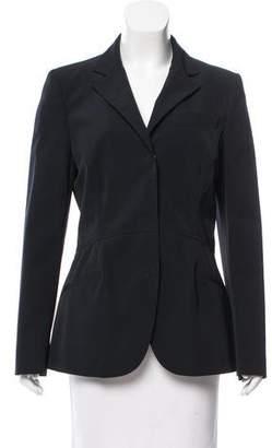 Prada Notch-Collar Structured Jacket
