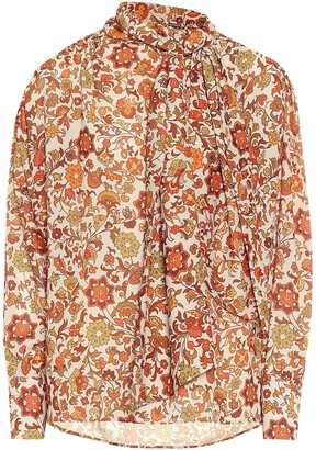 Dodo Bar Or Floral crepe blouse