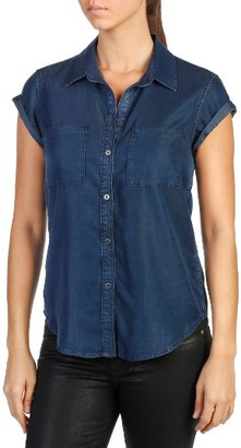 Women's Paige Mila Chambray Shirt $169 thestylecure.com