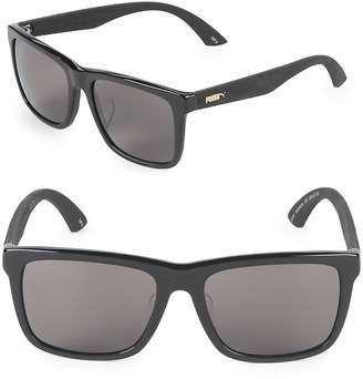 Puma Men's 56MM Square Sunglasses