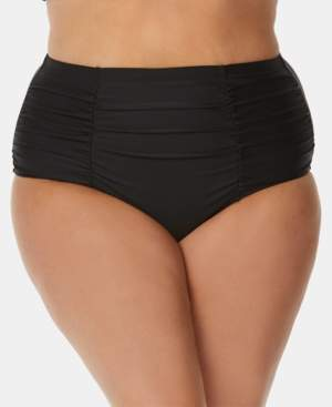 Raisins Curve Trendy Plus Size Tummy-Control Bikini Bottoms Women's Swimsuit