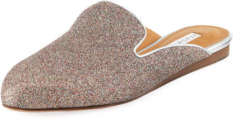 Veronica Beard Greyson Glitter Metallic Mule