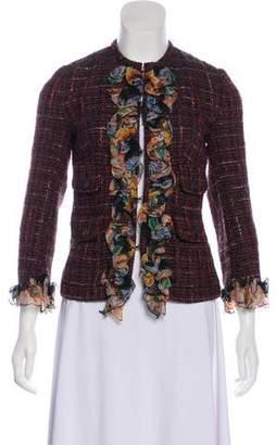 Dolce & Gabbana Embellished Tweed Jacket