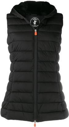Save The Duck padded zip-front gilet