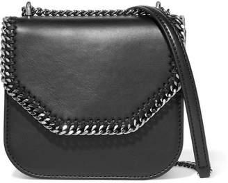 Stella McCartney The Falabella Box Mini Faux Leather Shoulder Bag - Black