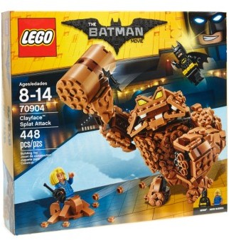 Lego The Batman Movie Clayface Splat Attack - 70904 $34.99 thestylecure.com