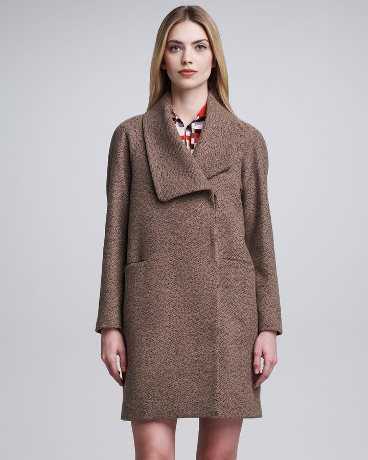 Cacharel Shawl-Collar Coat