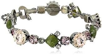 Sorrelli Army Girl Gingham Classic Line Bracelet