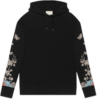 Sweatshirt with metallic embroidery $1,450 thestylecure.com