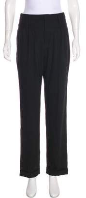 Marc by Marc Jacobs High-Rise Wool Pants