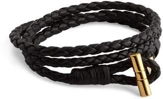 Tom Ford Braided Double-Wrap Bracelet