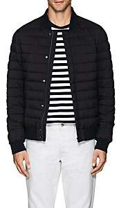 Herno MEN'S CHANNEL-QUILTED INSULATED BOMBER JACKET - NAVY SIZE XL