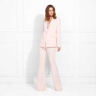 Rachel Zoe Lourdes Hopsack Suiting Flare Pants