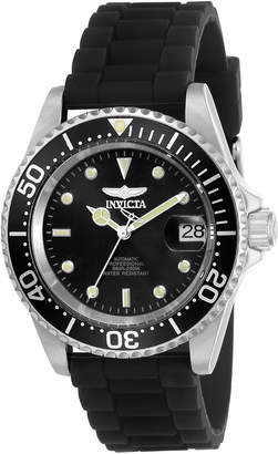 Invicta 23678 Silver-Tone & Black Pro Diver Watch