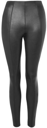 Topshop Stretch pu trousers