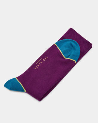 Ted Baker JACK Contrast trim cotton socks