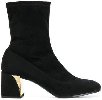 Fabi sock ankle boots