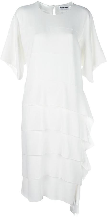 Jil Sander Cubism dress