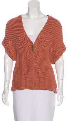 Brunello Cucinelli Sleeveless Knit Cardigan w/ Tags