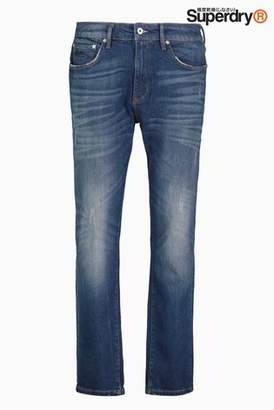 Next Mens Superdry Conor Taper Fit Jean