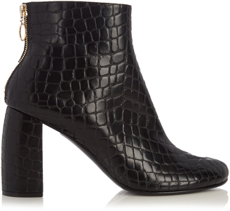STELLA MCCARTNEY Block-heel faux-leather ankle boots
