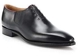 Corthay Corthay Men's Twist Pullman French Calf Leather Piped Oxfords