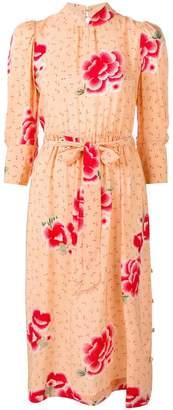 Simone Rocha Belted Silk Dress