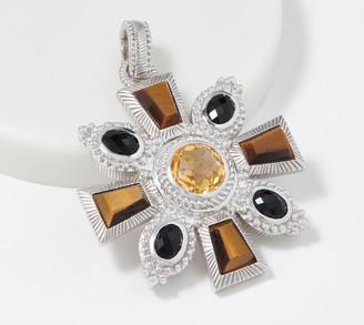Judith Ripka Sterling Silver Multi-Gemstone Enhancer