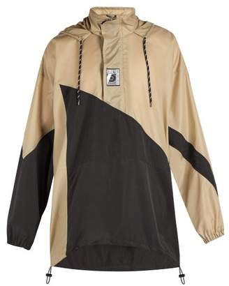 Balenciaga - Double Hem Windbreaker Jacket - Mens - Beige