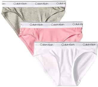 Calvin Klein Kids 3-Pack Bikini (Little Kids/Big Kids)