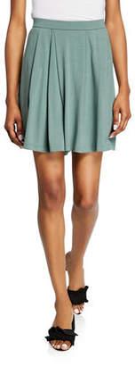 Eileen Fisher Jersey Pleated Walking Shorts