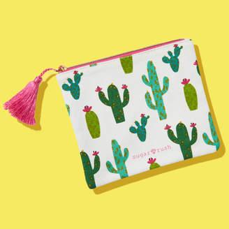 Sugar Rush Cactus Makeup Bag