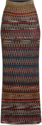 Missoni Knit Skirt with Metallic Thread