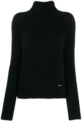 DSQUARED2 textured turtleneck jumper