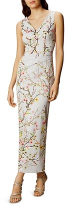 KAREN MILLEN Blossom Print Maxi Dress $499 thestylecure.com