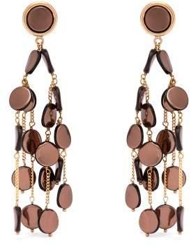 Rosantica By Michela Panero - Faville Beaded Chandelier Earrings - Womens - Silver