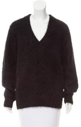 Michael Kors Mohair V-Neck Sweater