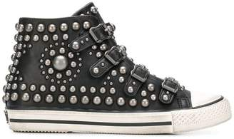 Ash studded hi-top sneakers