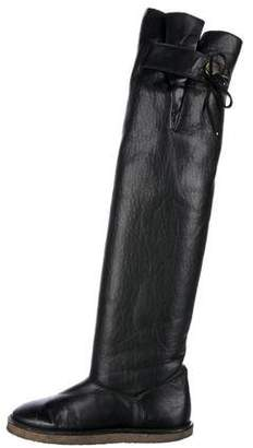 Stella McCartney Knee-High Vegan Leather Boots