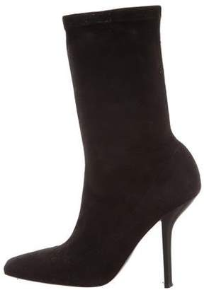 Stella McCartney Vegan Suede Ankle Boots