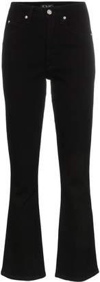 Eve Denim Jane straight leg kick flare jeans