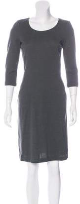 Fendi Wool Knee-Length Dress