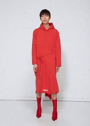 Vetements Heavy Jersey Dress