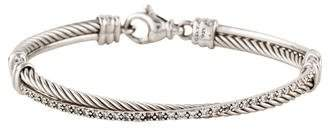 David Yurman Diamond Crossover Bracelet
