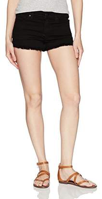7 For All Mankind Women's Cut Off Short-Squiggle