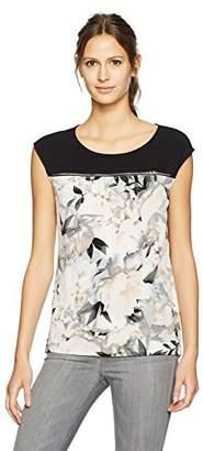 Calvin Klein Women's Sleeveless Top Horizontal Zips