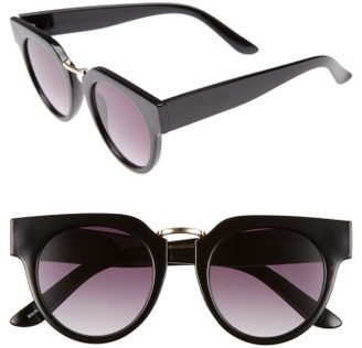 Women's Bp. 48Mm Round Sunglasses - Black $12 thestylecure.com
