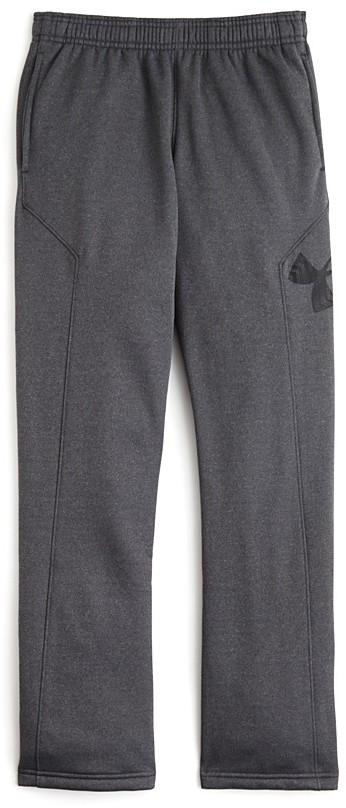 Under Armour Boys' Storm Armour® Fleece Big Logo Pants - Sizes S-XL