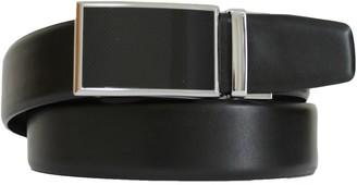 Apt. 9 Men's Plaque-Buckle Feather-Edge Leather Belt